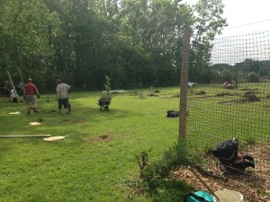 Community Garden Expansion, May 2015