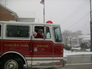 Santa Patrol Returns to Fairview Park