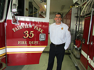 Fire Chief Featured in Fire Protection Publication