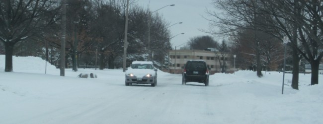 Police Chief Upperman: Please Drive Safely This Winter