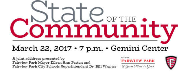State of the Community Set for March 22