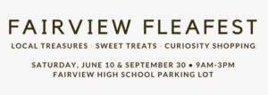 Fairview Flea this Saturday